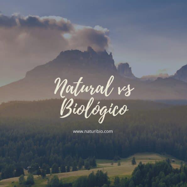 natural biológico orgânico