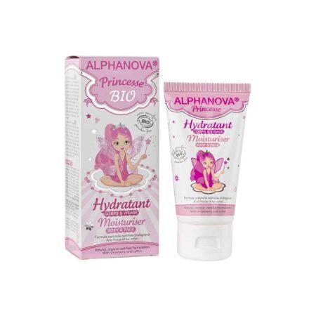 """ALPHANOVA - Hidratante """"Princesse"""" - rosto, corpo e mãos -Criança"""