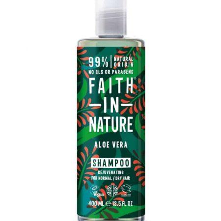 champô natural Faith in Nature aloe vera
