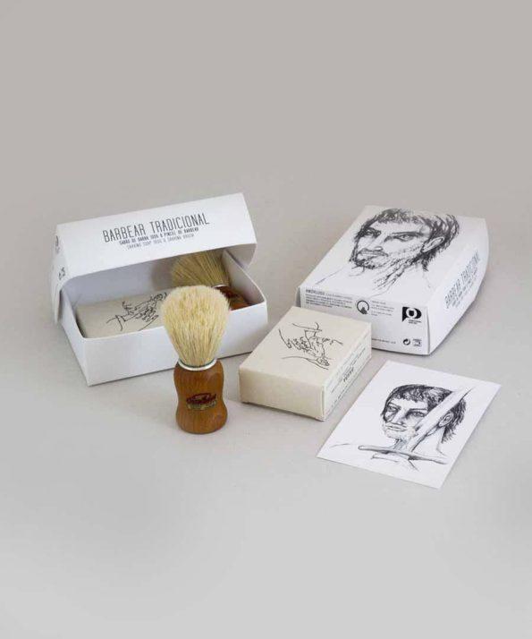 Amor-Luso-sabonete-pincel-de-barbear-natural-colecao-guerreiro