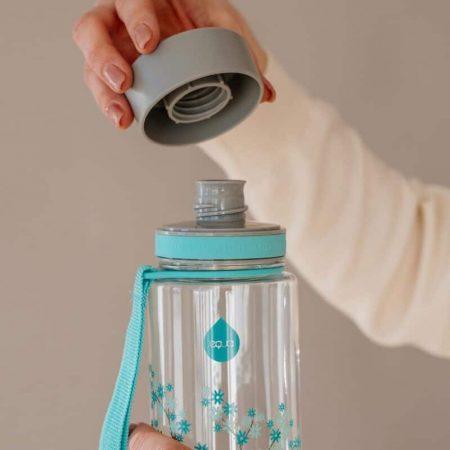 EQUA - Garrafa reutilizável Mint Blossom