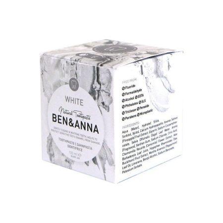 Ben&Anna natural biológico pasta de dentes branqueadora white 1