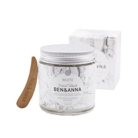 Ben&Anna natural biológico pasta de dentes branqueadora white