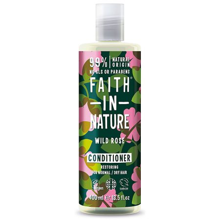 amaciador natural faith in nature rosa selvagem