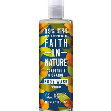 FAITH IN NATURE - Gel duche de toranja e laranja