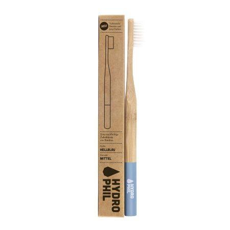 Hydrophil escova de dentes bambu Media Azul
