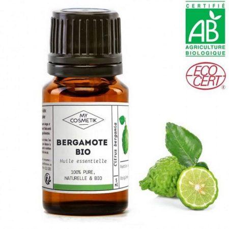 MYCOSMETIK óleo essencial bergamota biológico orgânico quimiotipado