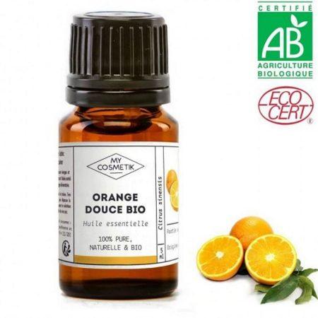 MYCOSMETIK óleo essencial laranja doce biológico orgânico quimiotipado