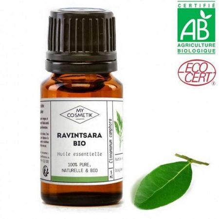 MYCOSMETIK óleo essencial ravintsara biológico orgânico quimiotipado
