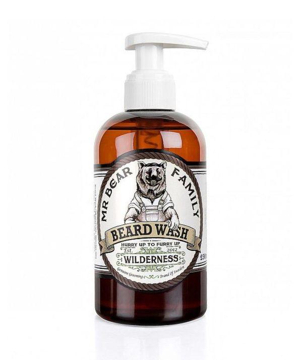 Mr-Bear-Family-natural-biologico-champo-para-barba-Beard-wash-wilderness