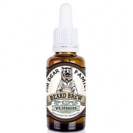 Mr-Bear-Family óleo para barba natural biológico beard brew wilderness