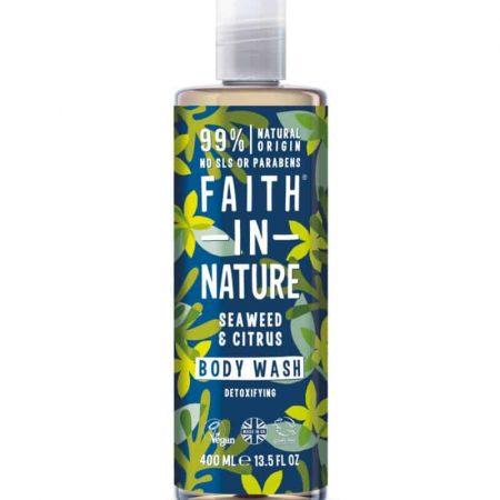 FAITH IN NATURE - Gel duche de algas marinhas e citrinos