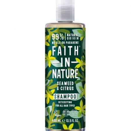 FAITH IN NATURE - Champô natural de algas marinhas e citrinos