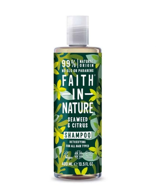 FAITH IN NATURE – Champô natural de algas marinhas e citrinos
