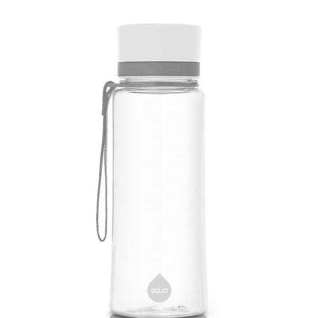 Garrafa reutilizável plain white