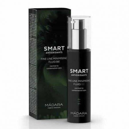 MÁDARA - SMART, Creme de Dia Fluído Super Antioxidante Pele Normal a Mista