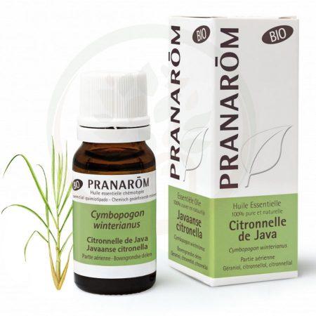 pranarom óleo essencial citronela java biológico quimiotípado orgânico