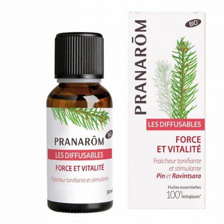 pranarôm óleo essencial difusão forca vitalidade biológico quimiotipado orgânico