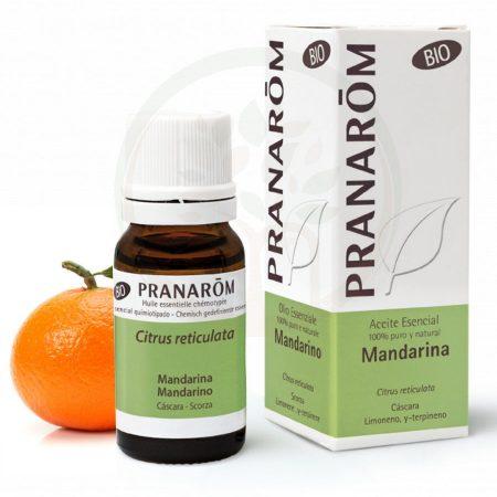 Pranarom oleo essencial tangerina biologico quimiotipado organico