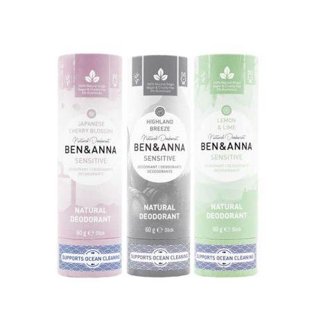 BEN&ANNA - Desodorizante natural sensitive