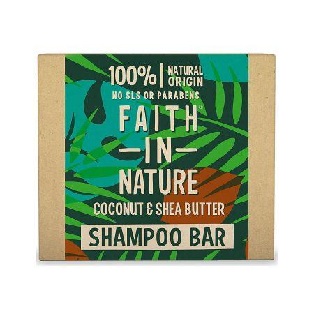 faith in nature champo solido natural coco manteiga de karité
