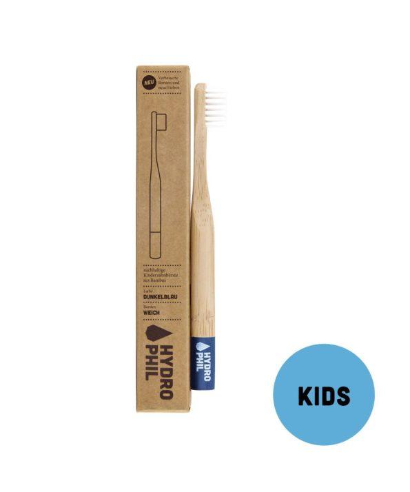 Hydrophil-escova-dentes-bambu-Criancas-Azul
