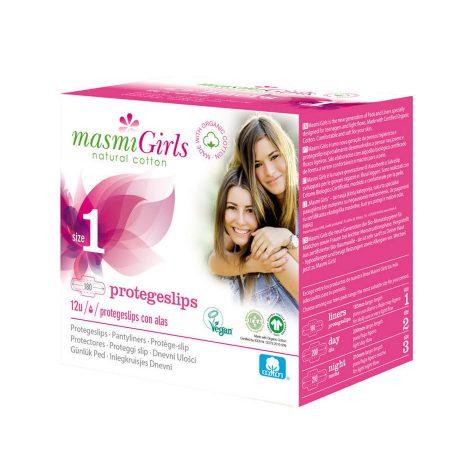 Masmi girls natural pensos diários protegeslip biológico orgânico