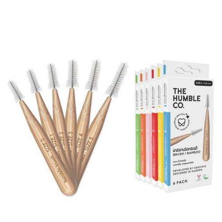 The Humble Co escovilhões dentários bambu todos