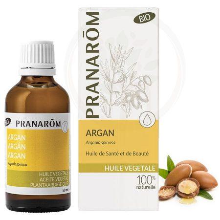 Pranarom óleo de argão vegetal natural biológico orgânico