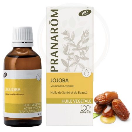 Pranarom óleo de jojoba vegetal natural biológico orgânico