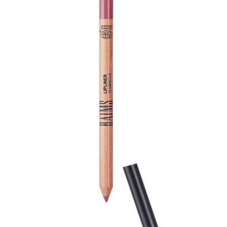 Baims lápis de lábios Lip Liner natural biológico 10 Hibiscus aberto