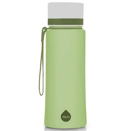 EQUA garrafa reutilizável Olive