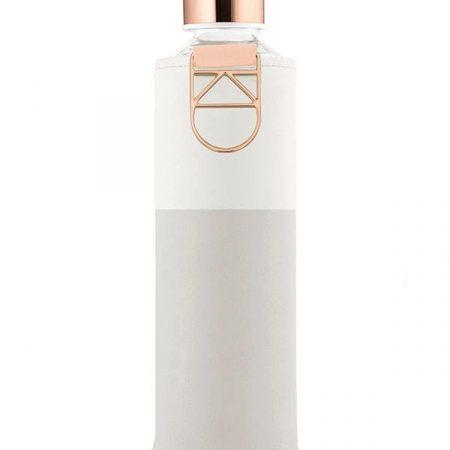 EQUA garrafa reutilizável vidro Sage
