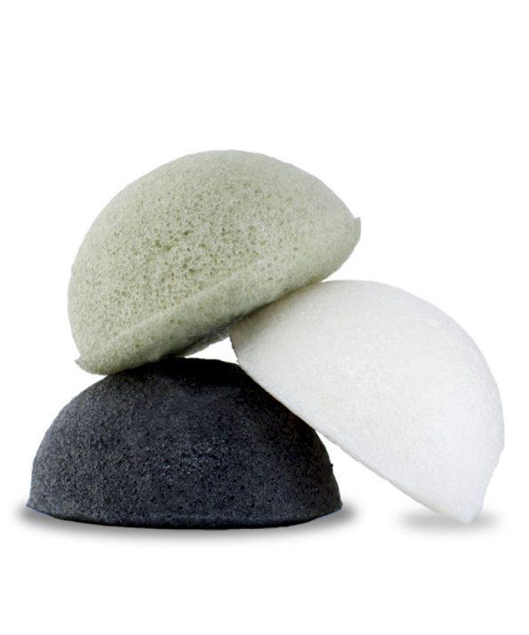 Esponja-Konjac-natural-conjunto