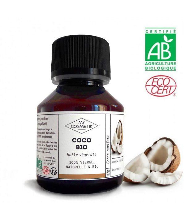 MYCOSMETIK óleo de coco biológico orgânico