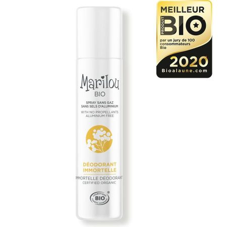 Marilou bio Desodorizante natural Immortelle biológico