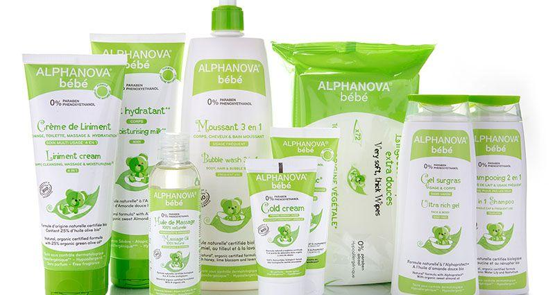 alphanova produtos naturais para bebés