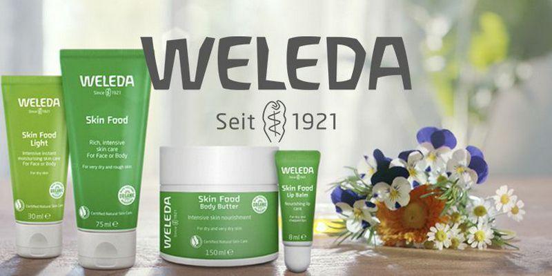 Weleda marca de cosmética natural e biológica