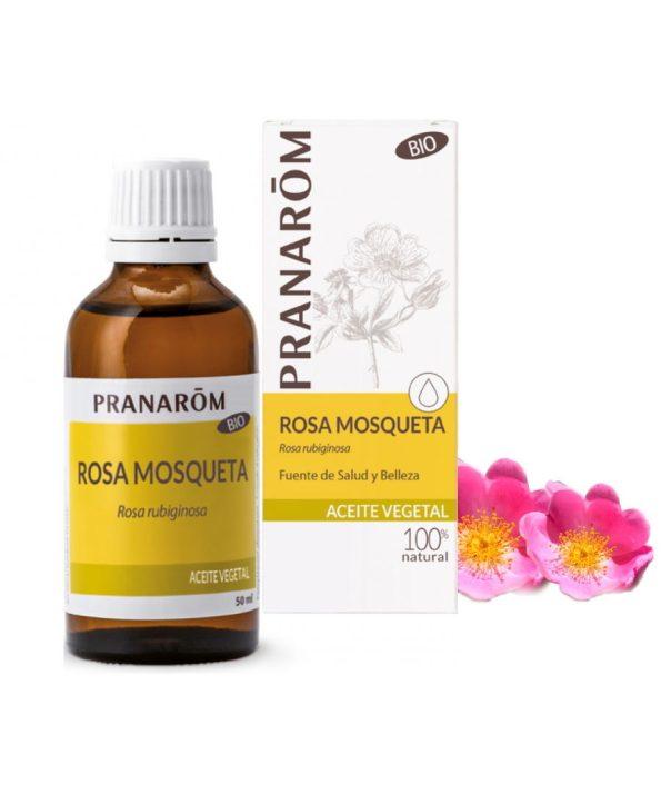 Pranarom óleo de rosa mosqueta virgem 100% natural biológico orgânico